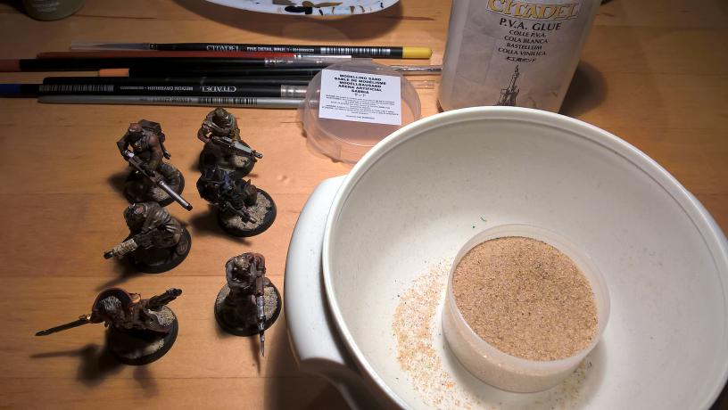 Warhammer 40k - Chaos Kultisten - Sand