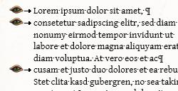 Scriptorium Aventuris - Word-Vorlage - Aufzählungen