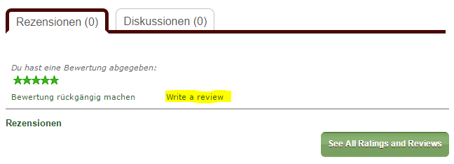 10_Scriptorium - Review schreiben nach Sternebewertung