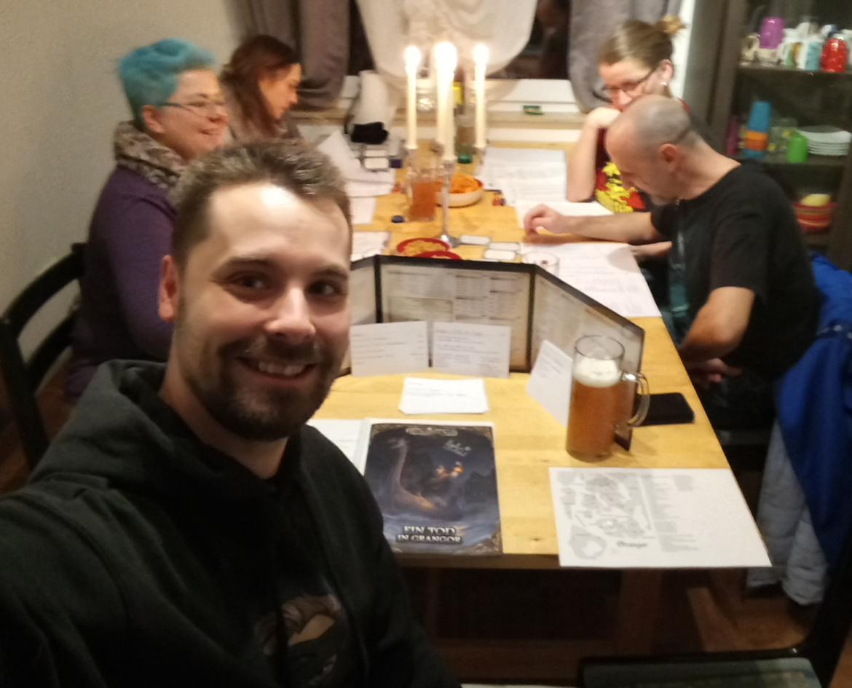 Ein Tod in Grangor - Eindrücke vom Spielabend