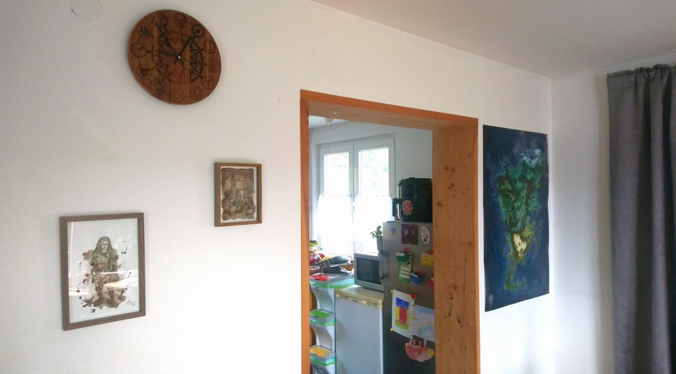 Fethz Welt - Unsere DSA-Wand